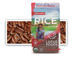 Grains - Lotus Organic Red Rice, Grocery, Anneliese Schools Store  - LIESAS