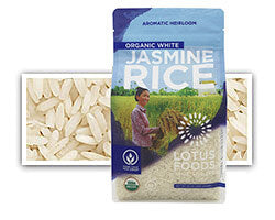 Grains - Lotus Foods Jasmine Rice, Grocery, UNFI - LIESAS