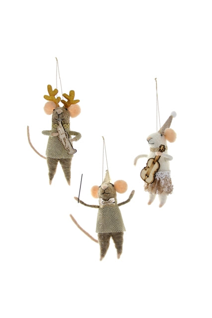 Musical Mice Ornament, Ornament, Cody Foster - LIESAS