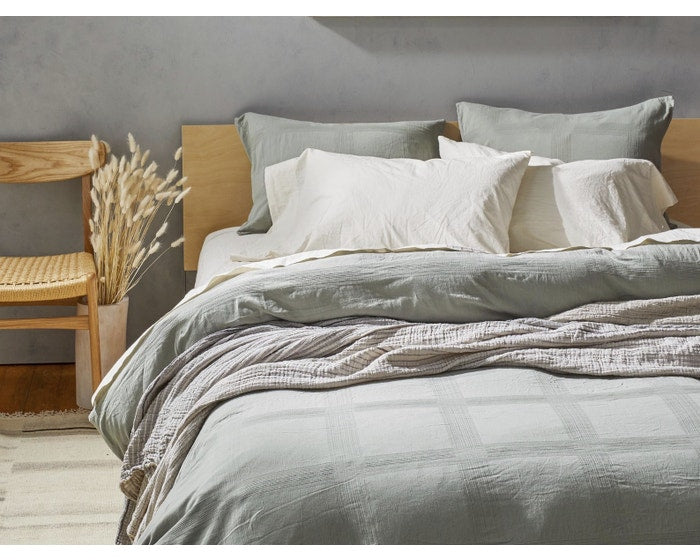 Organic Duvet Cover Collection - King, Duvet Cover, COYUCHI - LIESAS