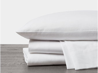 Coyuchi Soft washed Organic Sheet set, Bedding, COYUCHI - LIESAS