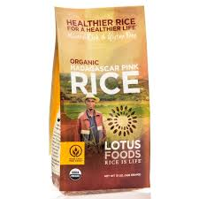 Grains - Lotus Foods Pink Madagascar Rice, Grocery, Anneliese Schools - LIESAS
