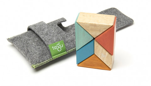 Magnetic Wooden Blocks - Pocket Pouch Collection, Toy, tegu - LIESAS