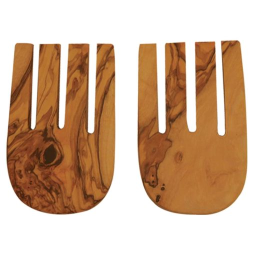 Be Home - Olive Wood Salad Hands, Utensils, Be Home - LIESAS
