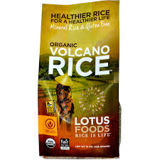 Grains - Lotus Foods Volcano Rice, Grocery, Anneliese Schools - LIESAS