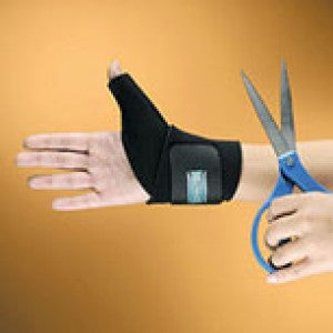 Trimmable Thumb Brace