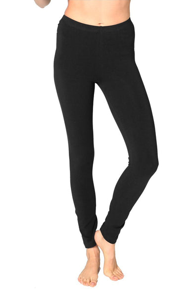 1007 Combed Spandex Jersey Leggings-yourzmart