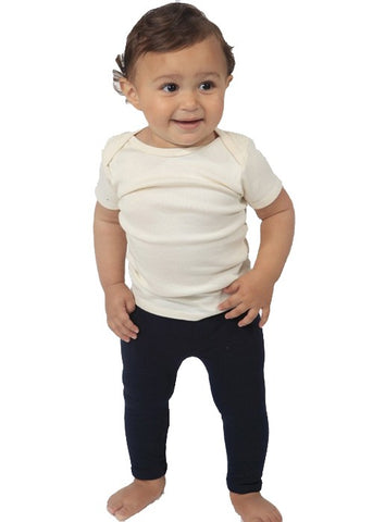 1037 Infant Combed Spandex Jersey Leggings - yourzmart
