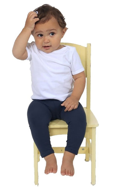 1037 Infant Combed Spandex Jersey Leggings-yourzmart
