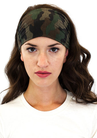 17130CMO Women's Camo Headband-yourzmart