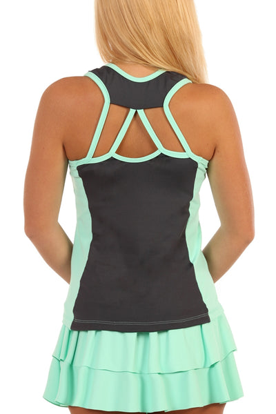 Summer League Stadium TwoTone Strappy Tank