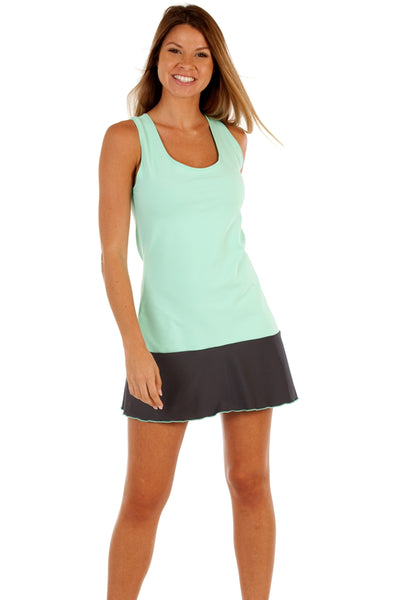 Summer League Collection Two Tone Love Tennis Dress