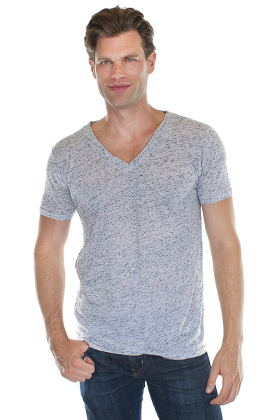20055 Unisex Triblend V-Neck-yourzmart