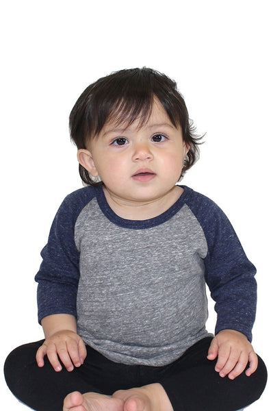 20360 Infant Triblend Raglan Baseball Shirt-yourzmart