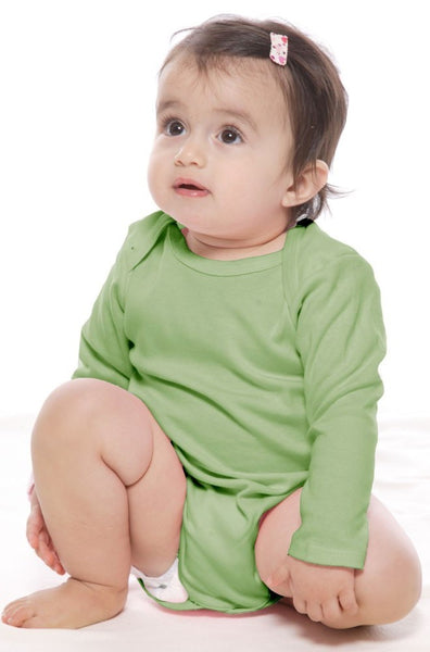 2037ORG Organic Infant Long Sleeve One Piece - yourzmart