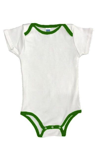 2138 Infant One Piece Contrast Binding-yourzmart