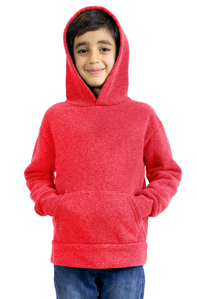 25025 Youth Triblend Fleece Pullover Hoody-yourzmart