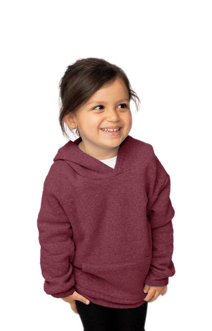 25065 Toddler Triblend Fleece Pullover Hoody-yourzmart
