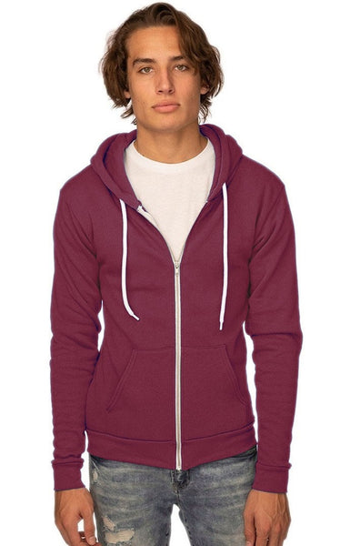 3150 Unisex Fashion Fleece Zip Hoody-yourzmart
