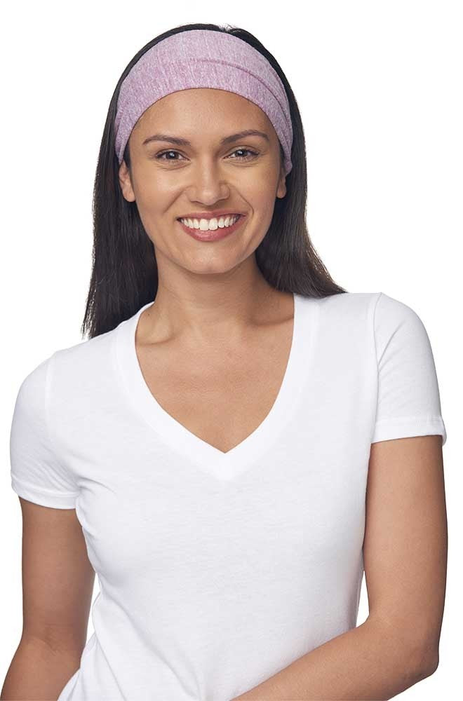 32130 Women's eco Triblend Headband-yourzmart