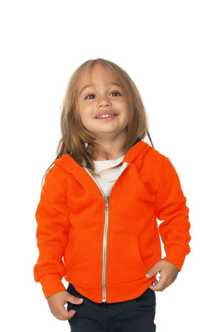 3333N Infant Fashion Fleece Neon Zip Hoody-yourzmart
