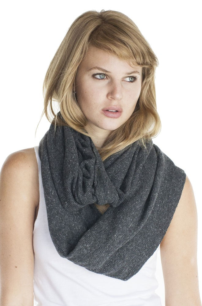 34000 Unisex eco Triblend Thermal Infinity Scarf-yourzmart