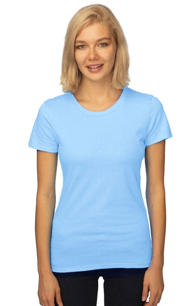 5001ORGW Womens Short Sleeve Organic Fine Jersey Tee-yourzmart