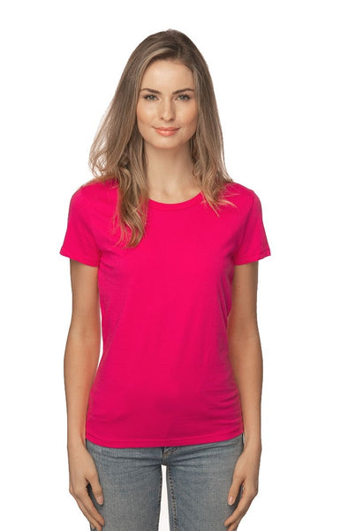 5001W Women's Short Sleeve Fine Jersey Tee - yourzmart
