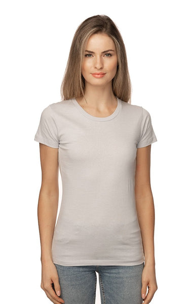 5001W Women's Short Sleeve Fine Jersey Tee-yourzmart