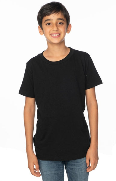 5021 Youth Short Sleeve Crew Tee-yourzmart