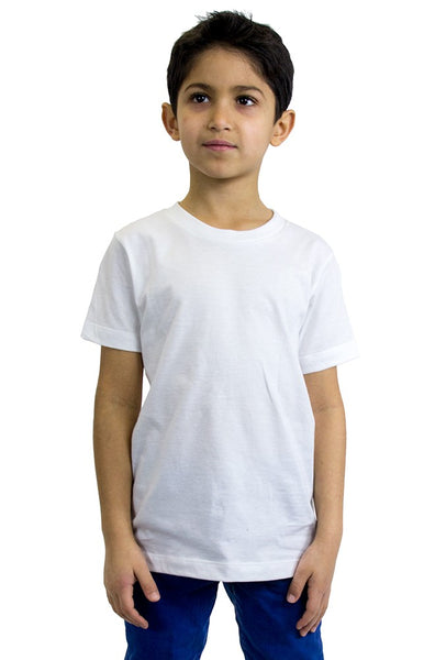5021ORG Organic Youth Short Sleeve Crew Tee-yourzmart