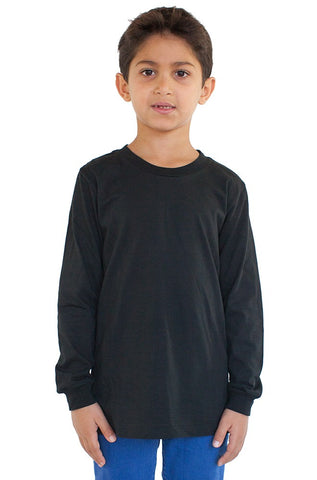 5022 Youth Long Sleeve Crew-yourzmart