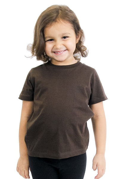 5061ORG Organic Toddler Short Sleeve Crew Tee-yourzmart