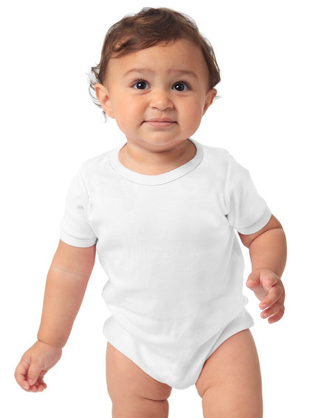 6039ORG Organic Infant Interlock One Piece-yourzmart