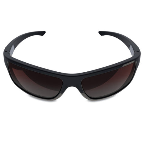Charlie V – Black Sunglasses, Rose Gradient Lens – Made in USA-yourzmart