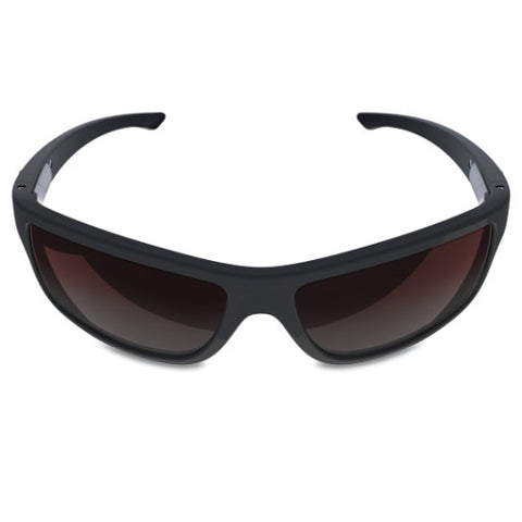 Charlie V – Matte Black Sunglasses, Rose Gradient Lens – Made in USA-yourzmart