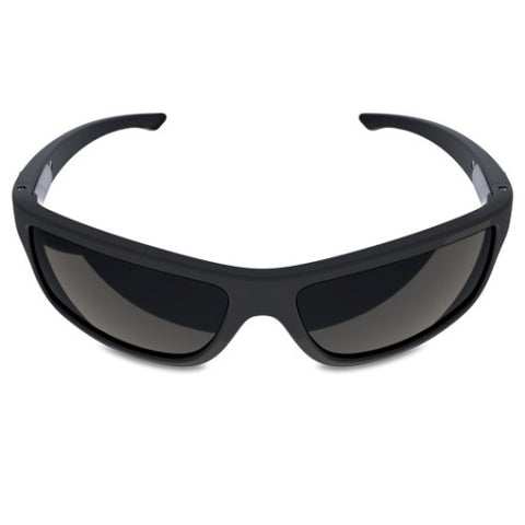 Charlie V – Matte Black Sunglasses, Smoked Black Lens – Made in USA-yourzmart