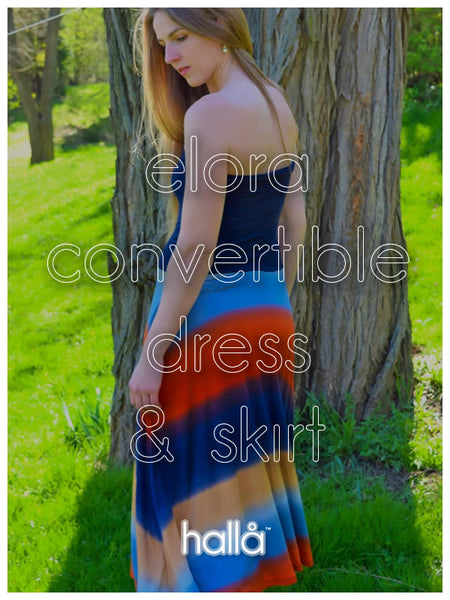 elora convertible dress & skirt