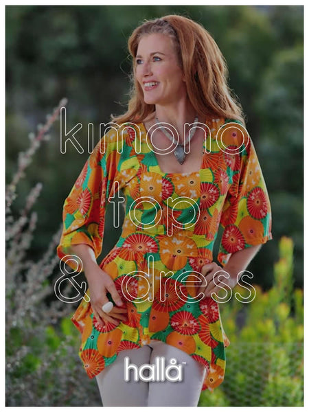 kimono top & dress for women