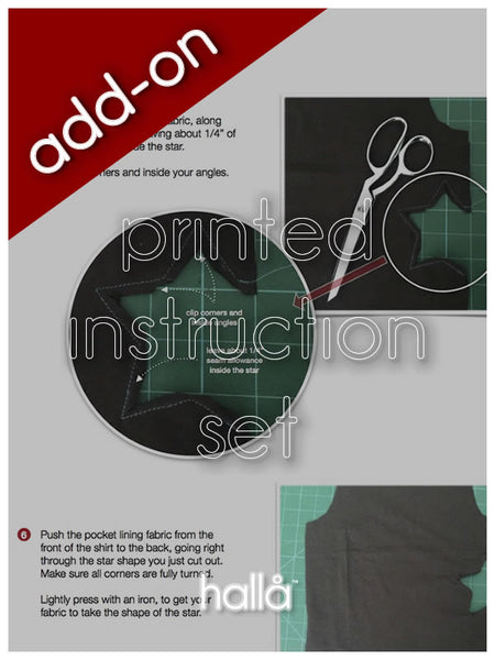add printed instructions set