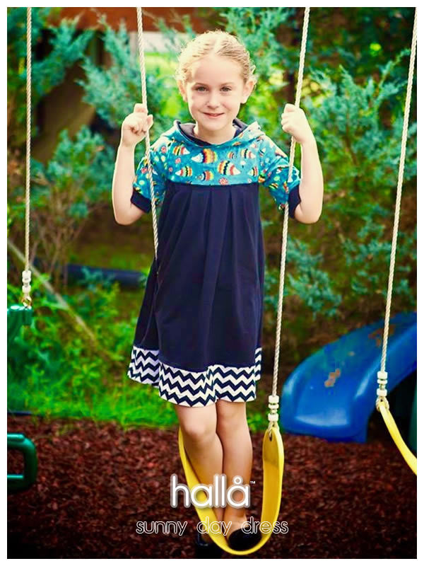 sunny day dress for kids