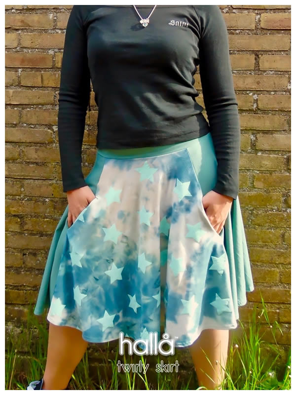 twirly skirt for women