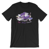Eat Sleep Create T-Shirt - My Dreamy Star Caytlin Vilbrandt