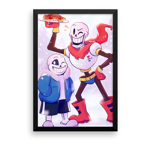 Sans and Pap Print - My Dreamy Star Hollulu
