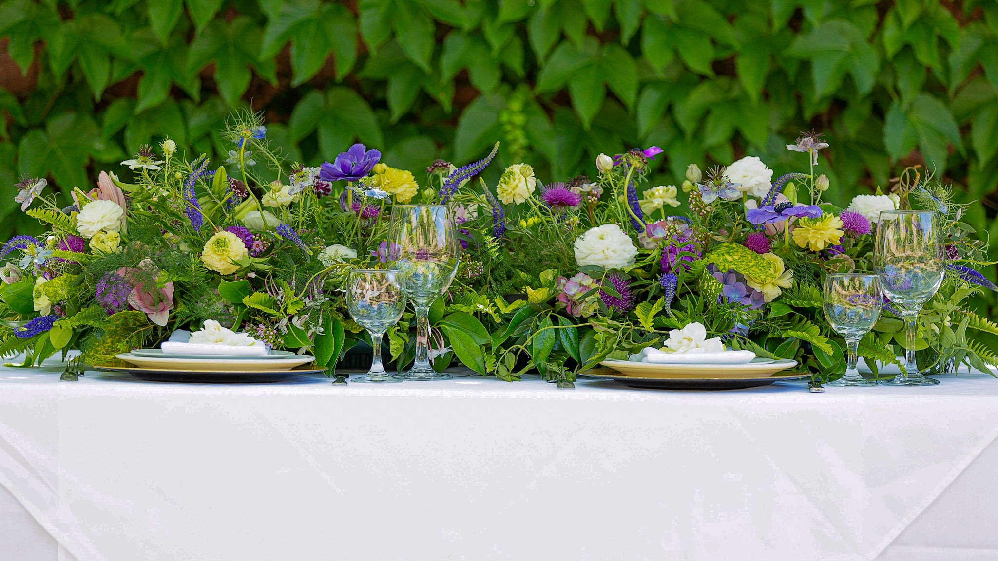Lush & Long Centerpiece