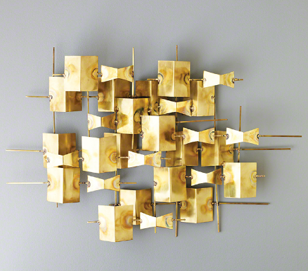 Brass Panel Wall Mount