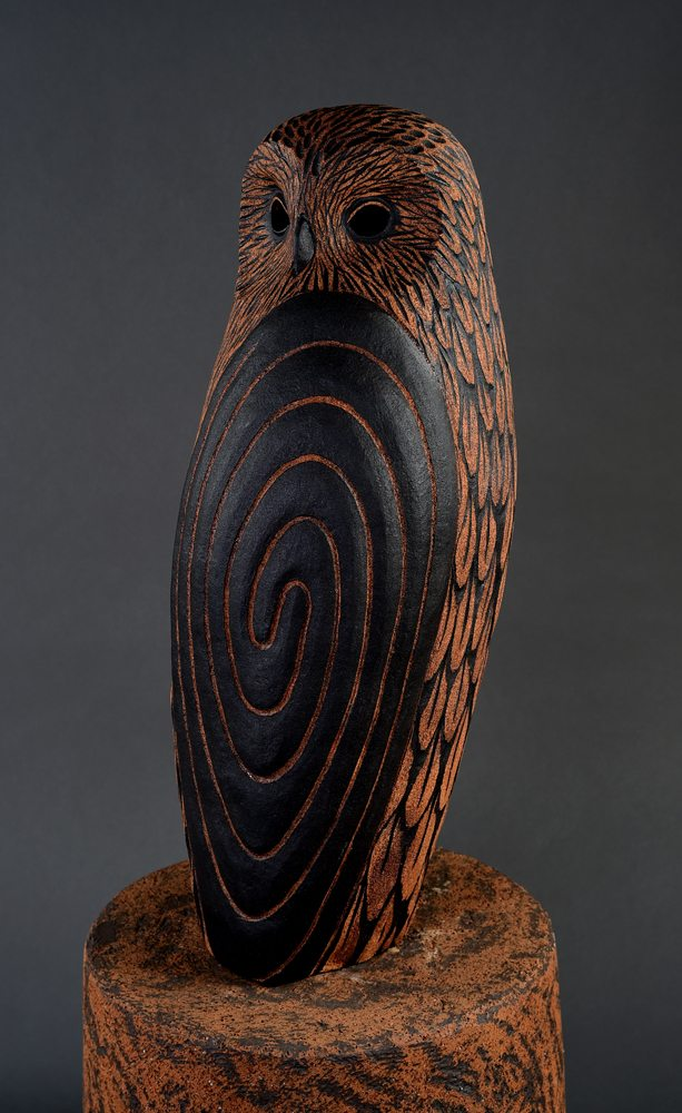 Owl by Clayton Thiel