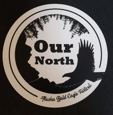 Alaska Bald Eagle Festival Sticker