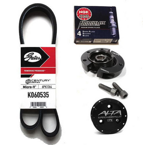 Alta 17% Supercharger Reduction Pulley Kit
