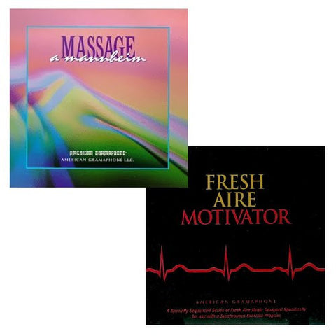 Massage and Motivator 2 CD Bundle